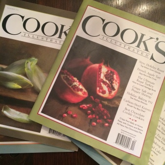 Cook's mag covers